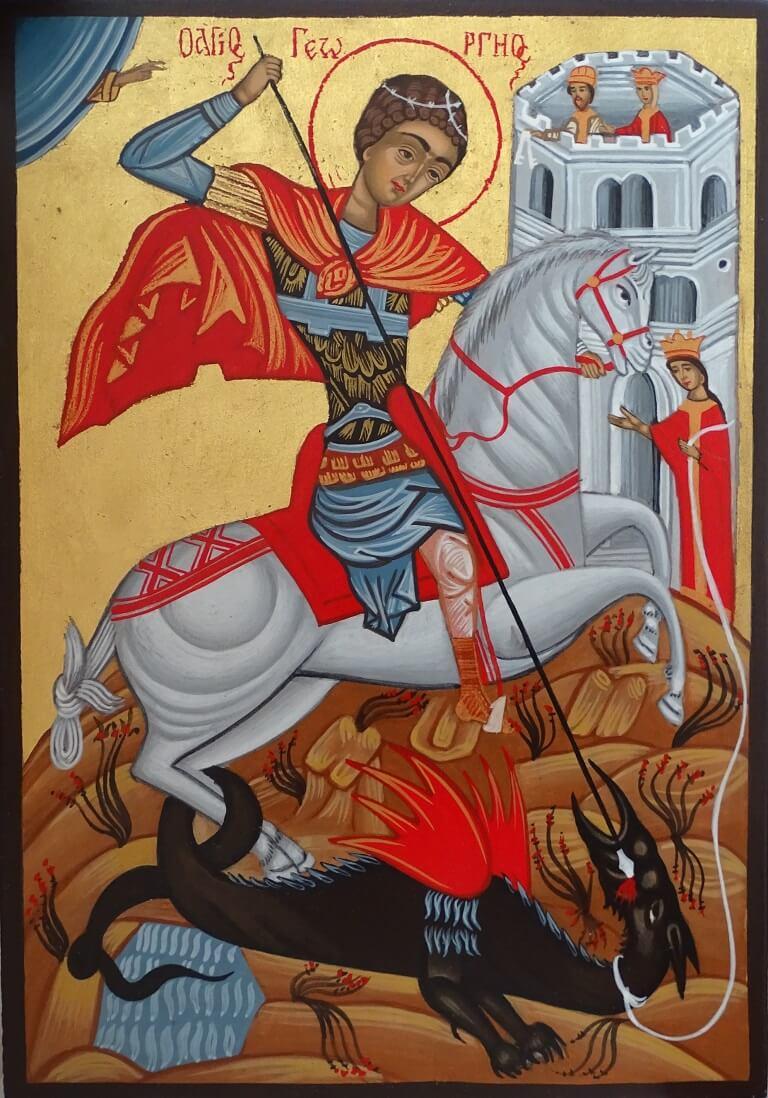 St.Jeorge-pravoslavni-ikoni